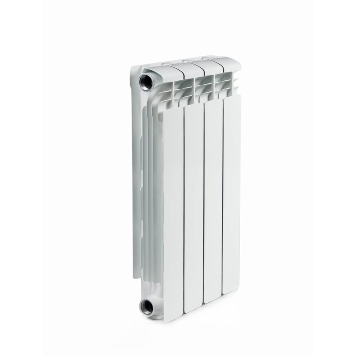 Радиатор алюминиевый Rifar Alum 500, 4 секции, цвет белый