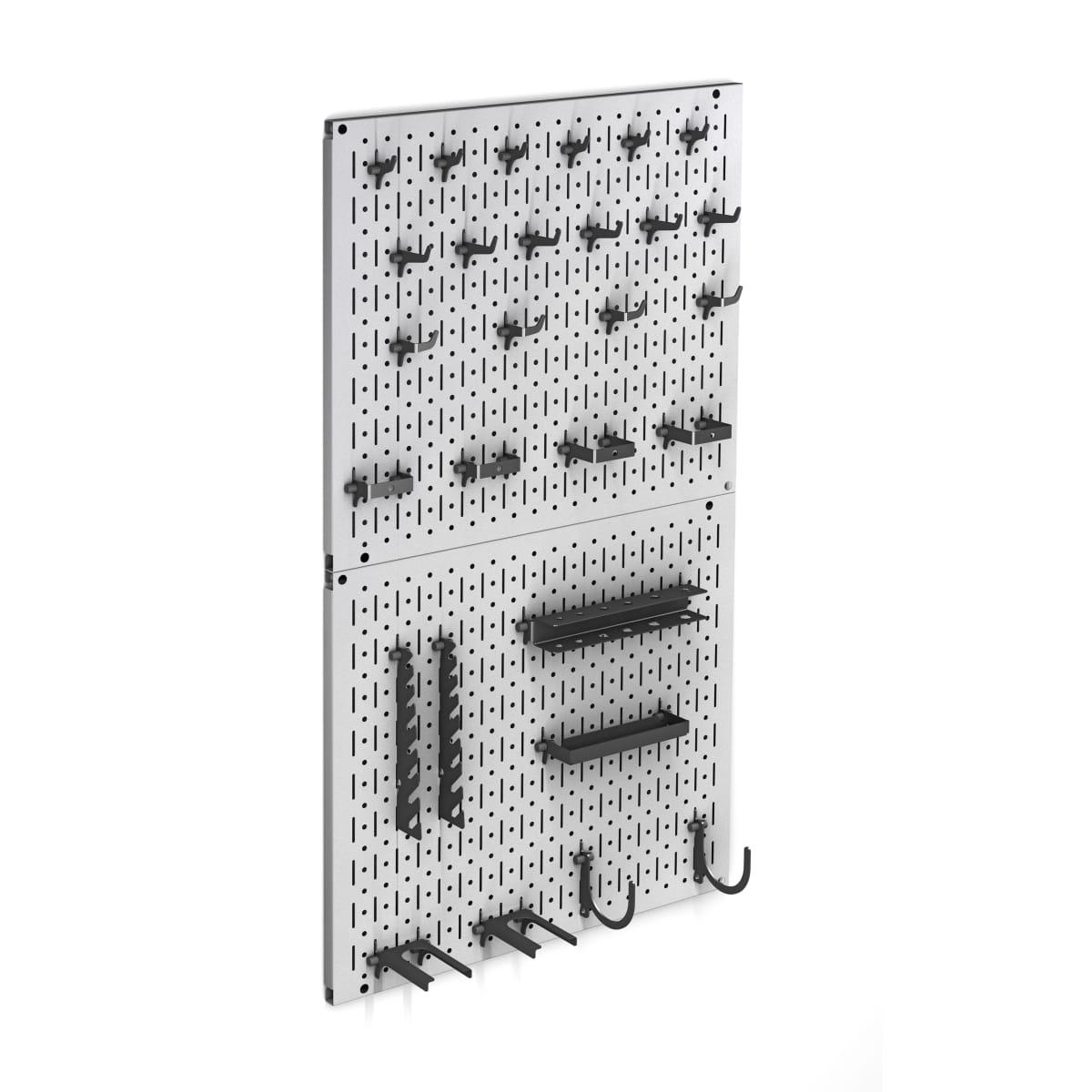 Система хранения инструментов на перфопанелях 500х450 мм сталь, 28 предметов