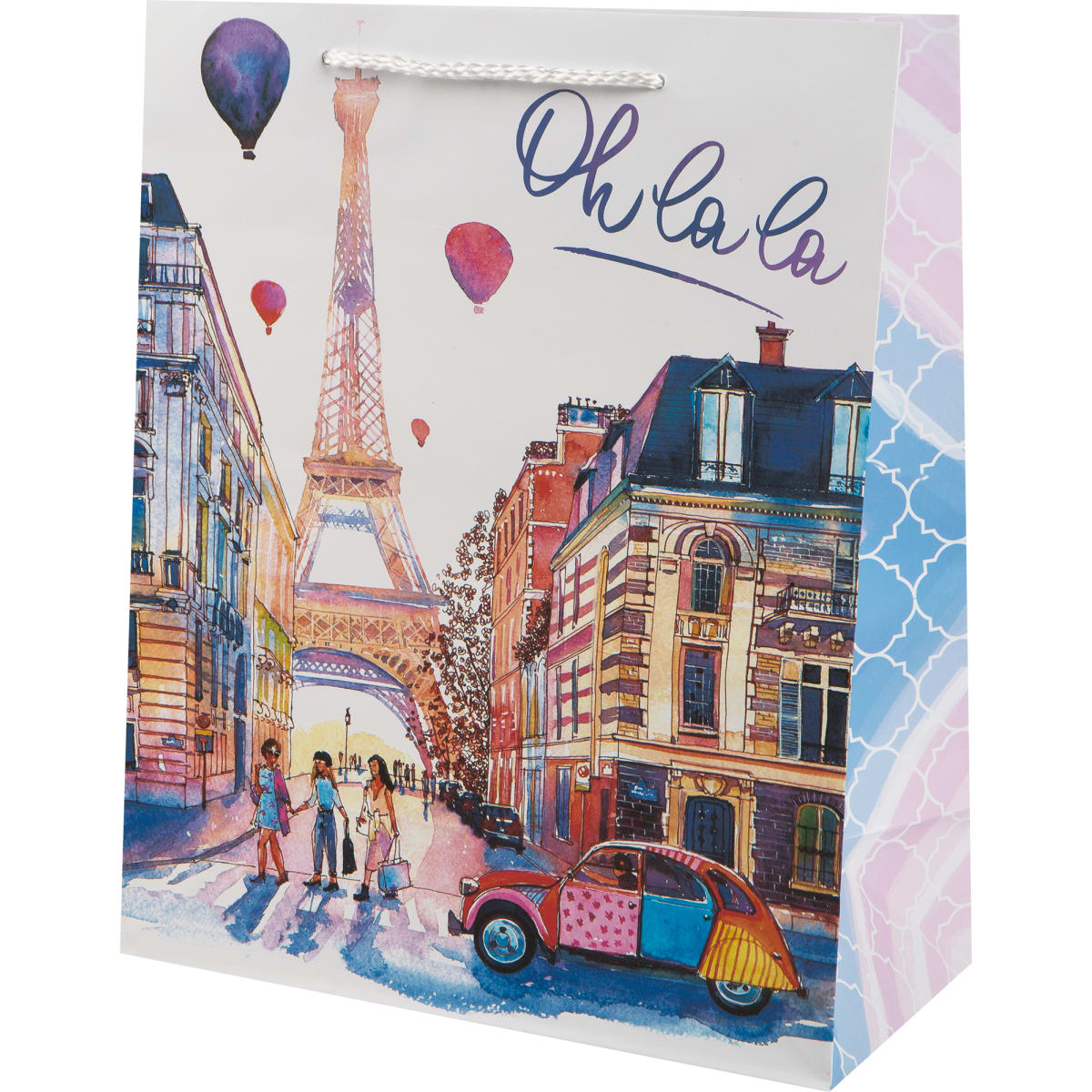 Пакет подарочный «Париж» 26x32 см