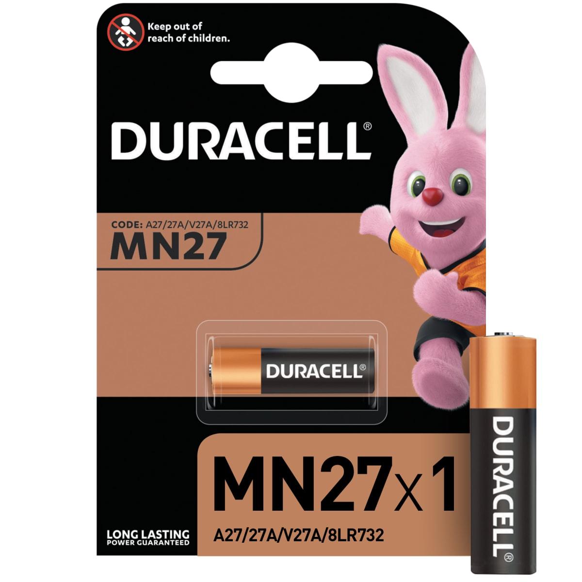 Батарейка алкалиновая Duracell MN27 1 шт