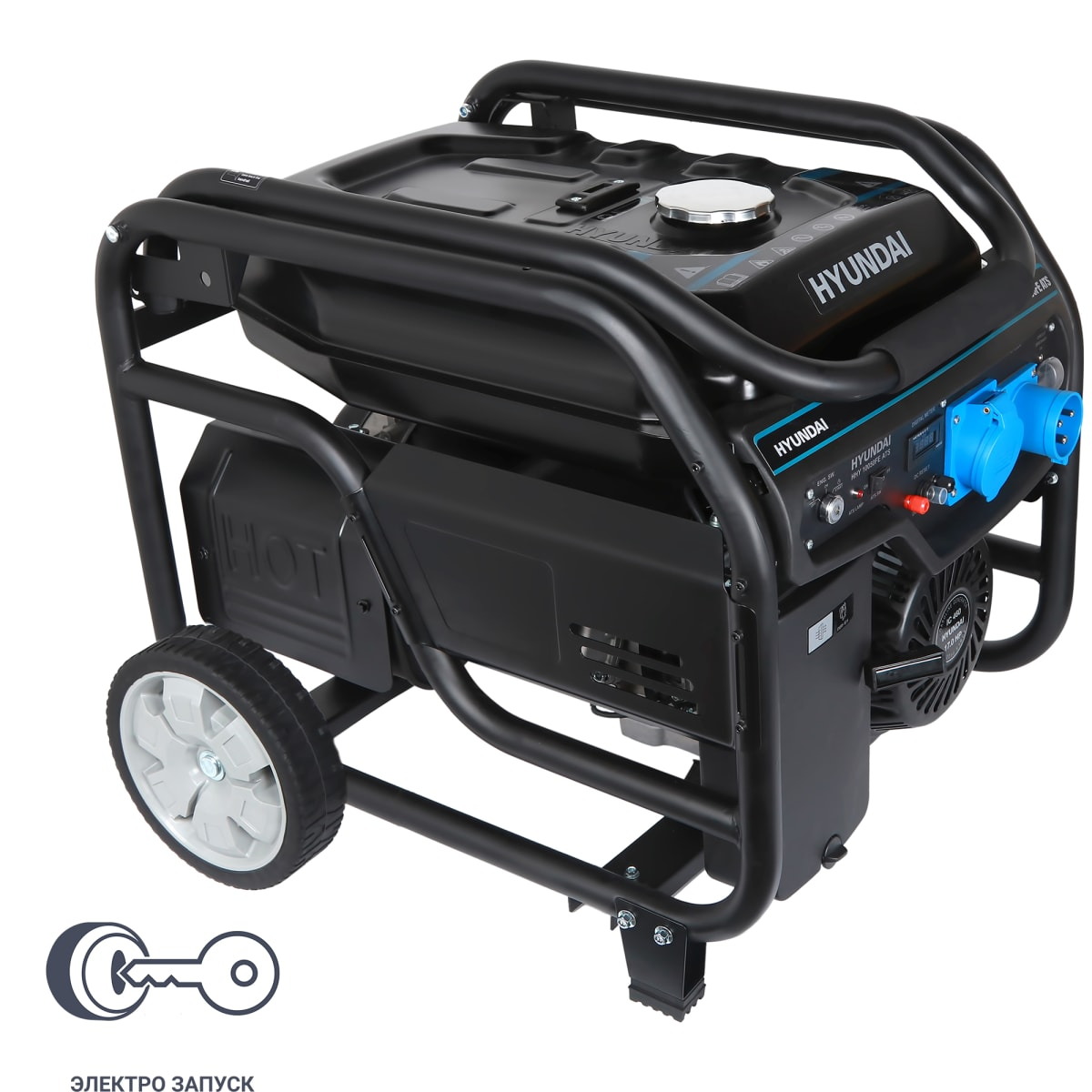 Генератор бензиновый Hyundai HHY 10050FE ATS, 8 кВт