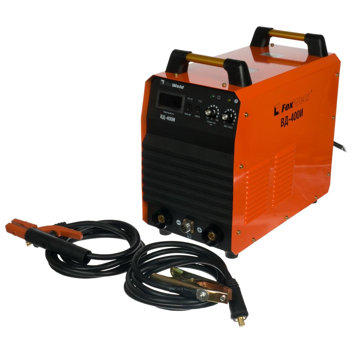 Дуговой сварочный инвертор FoxWeld ВД-400И 3273