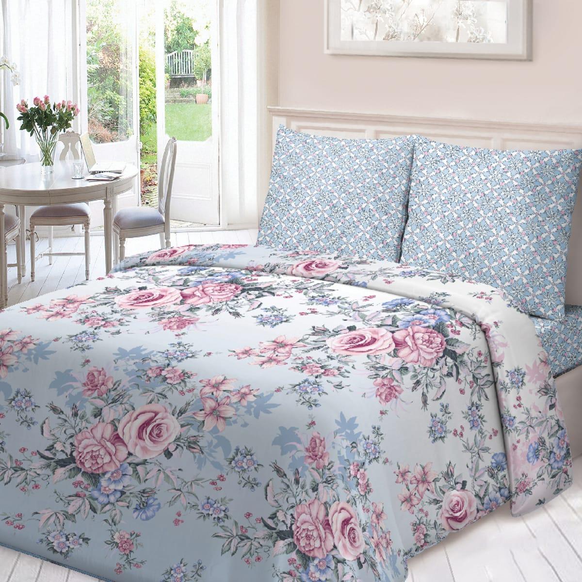 Комплект постельного белья «Примавера» двуспальный, поплин