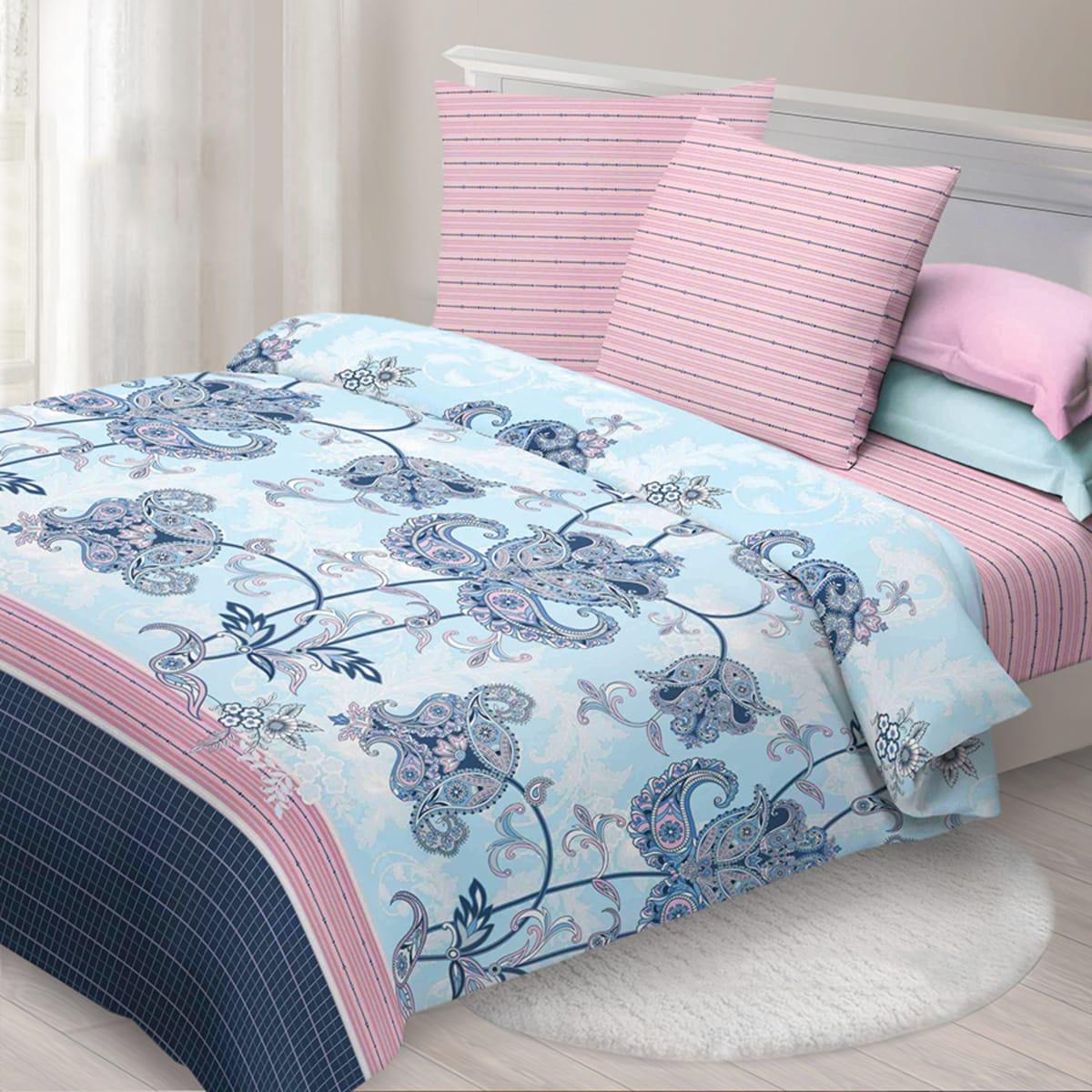 Комплект постельного белья «Сказка» семейный, бязь
