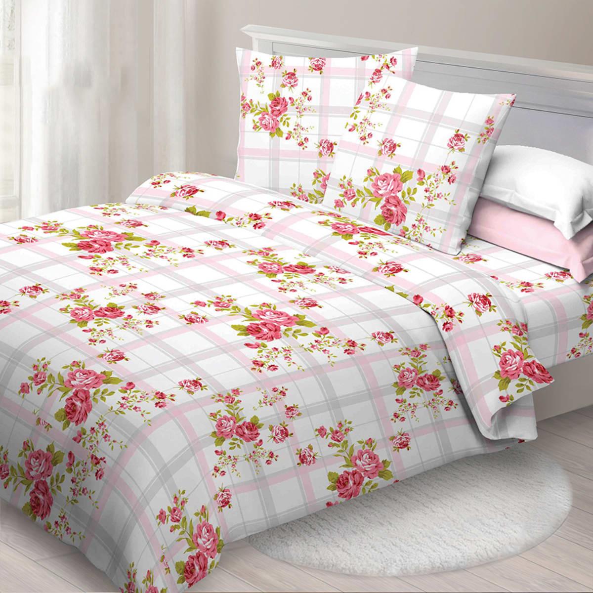 Комплект постельного белья «Доброе утро» евро, бязь