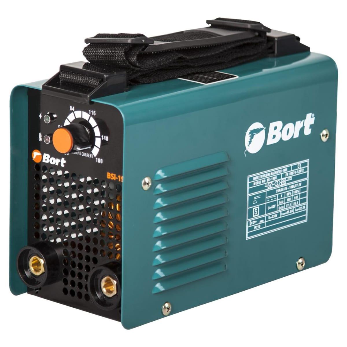 Дуговой сварочный инвертор Bort BSI-190H 91272645