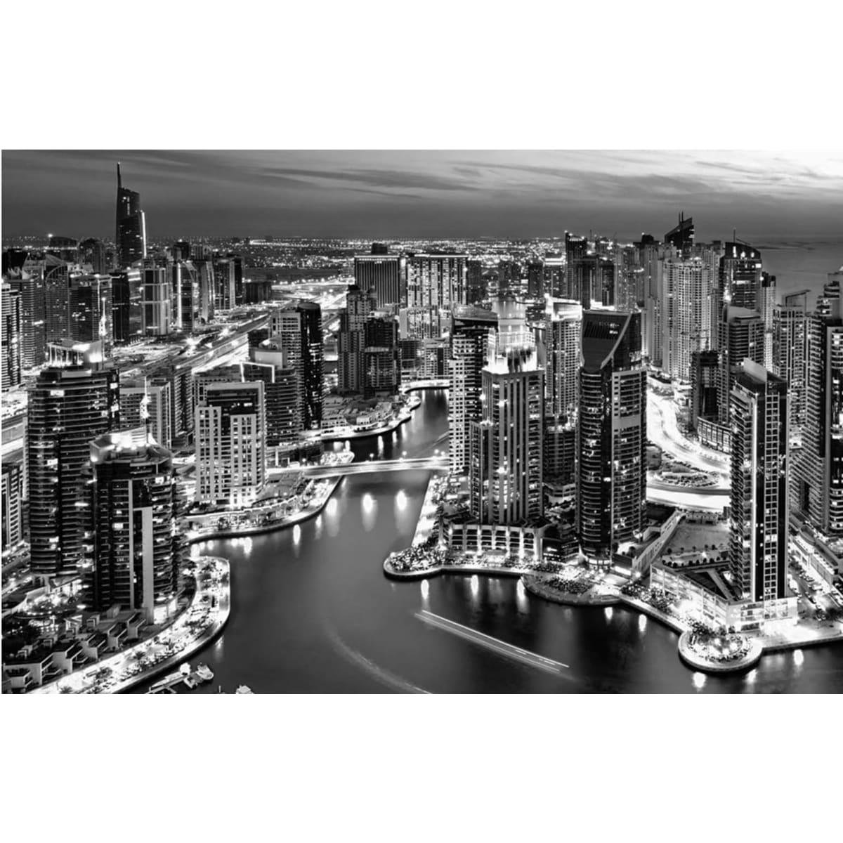 готовые черно белые фотообои с городом все впечатляет, несмотря