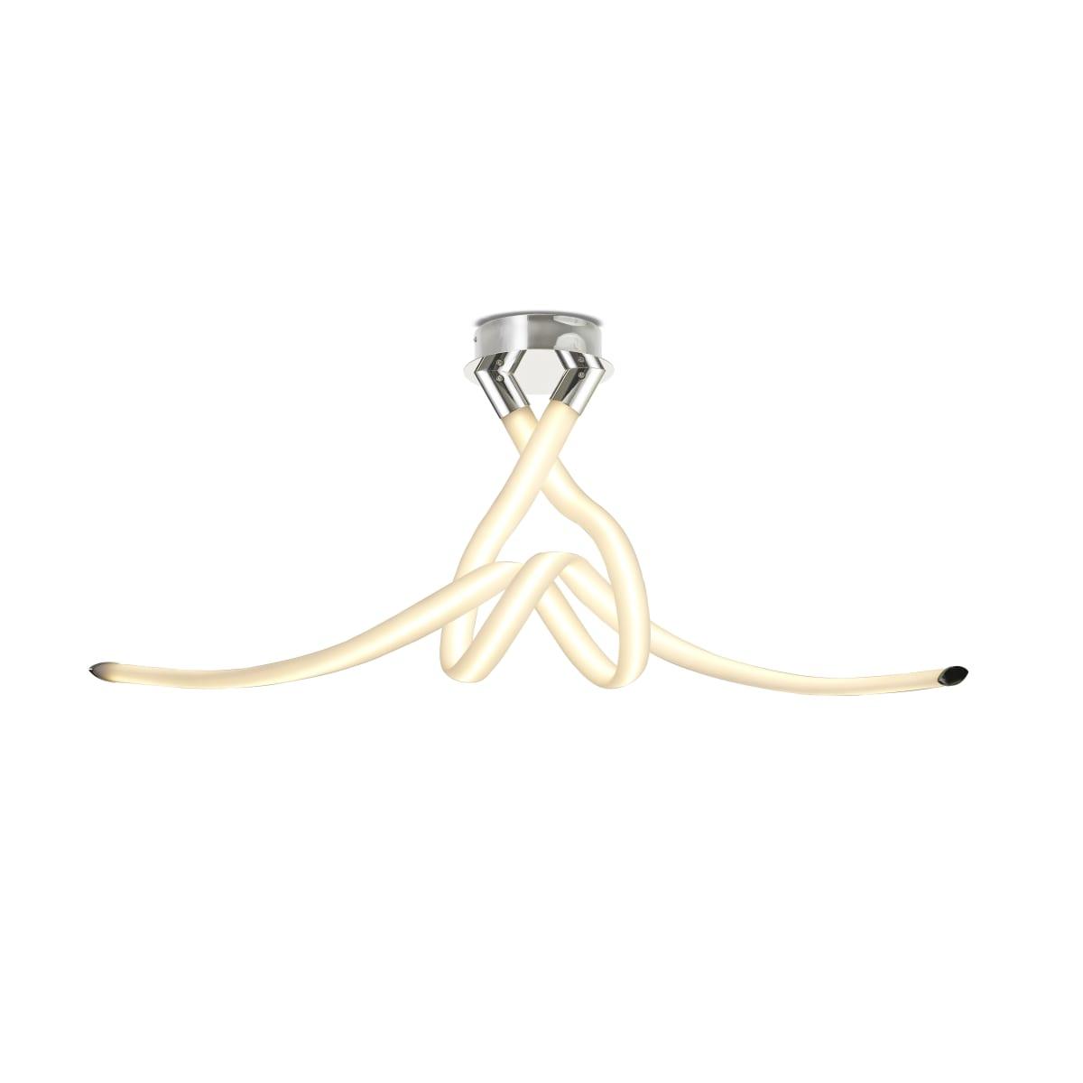 Потолочный светильник Mantra Armonia 6723 теплый белый свет цвет серебряный
