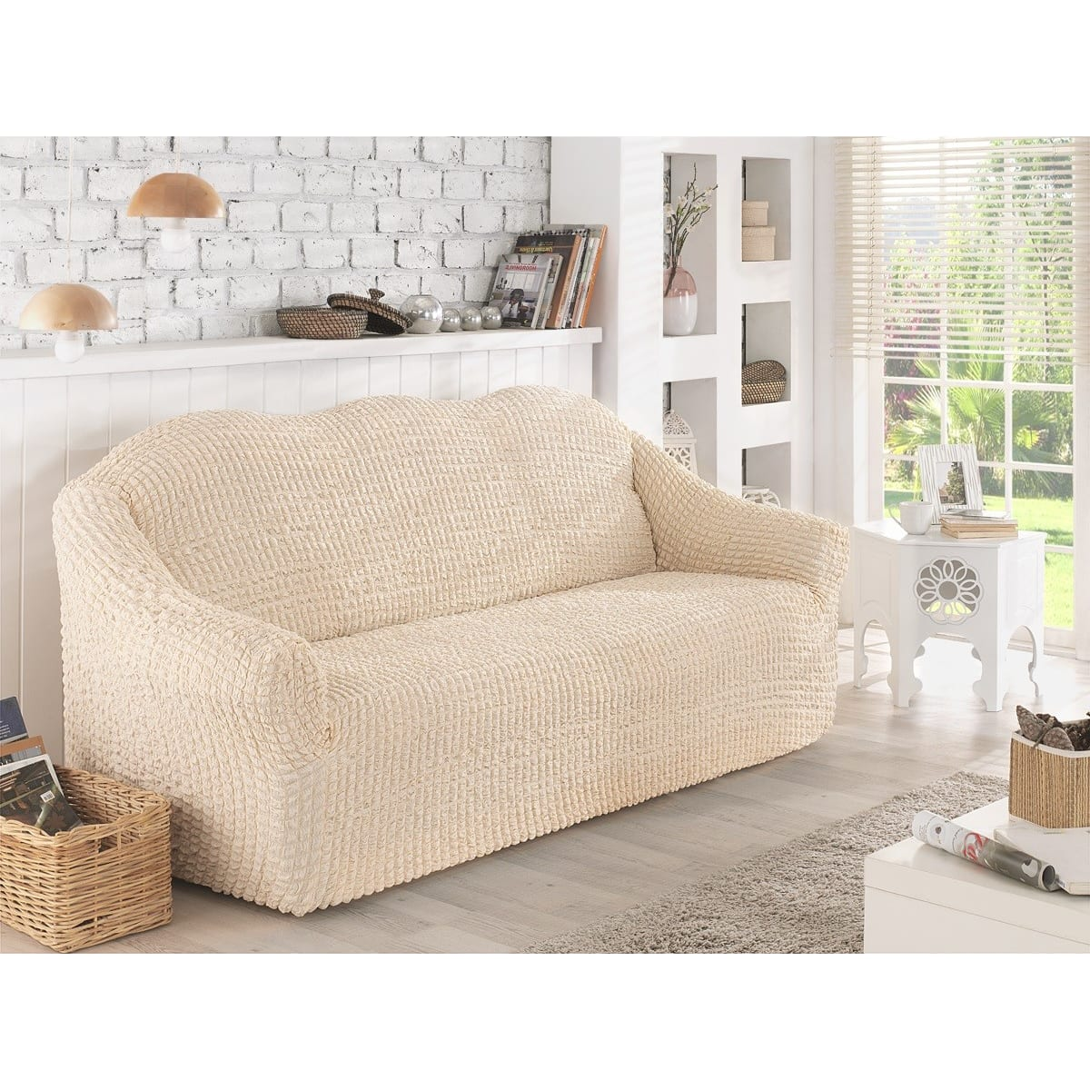 Чехол для двухместного дивана KARNA 2651/CHAR006, 160 см