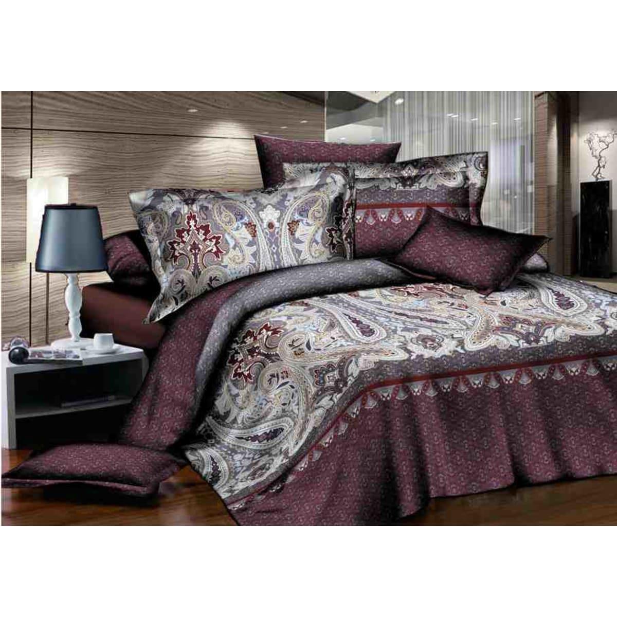 Комплект постельного белья полутораспальный GUTEN MORGEN La Noche Del Amor , сатин, 50x70 см