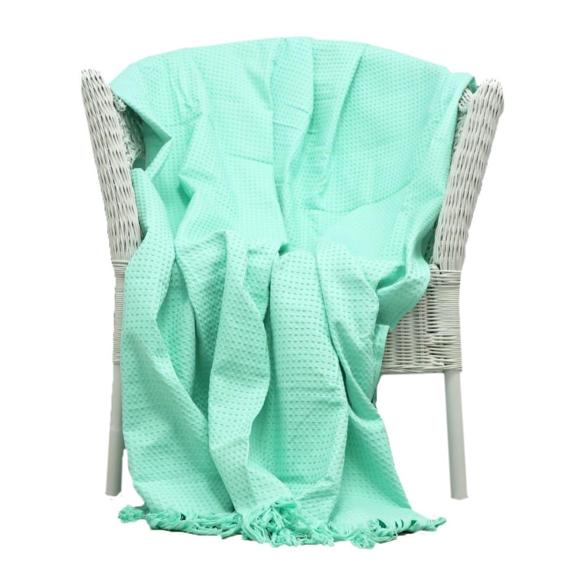 Плед Belezza Сахара 150х200см, вафельная ткань