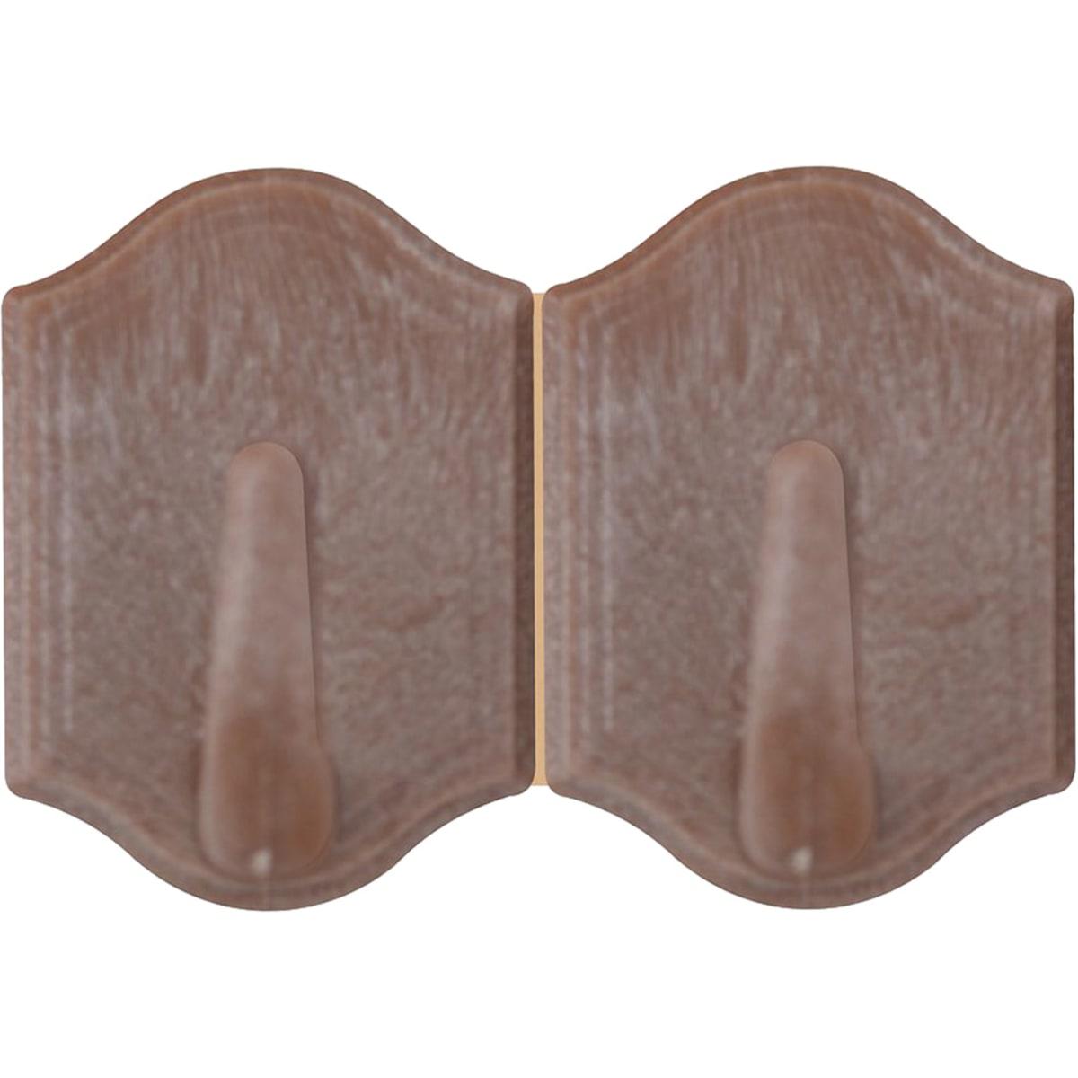 Крючки для ванной Мультидом Вуд MS27-162
