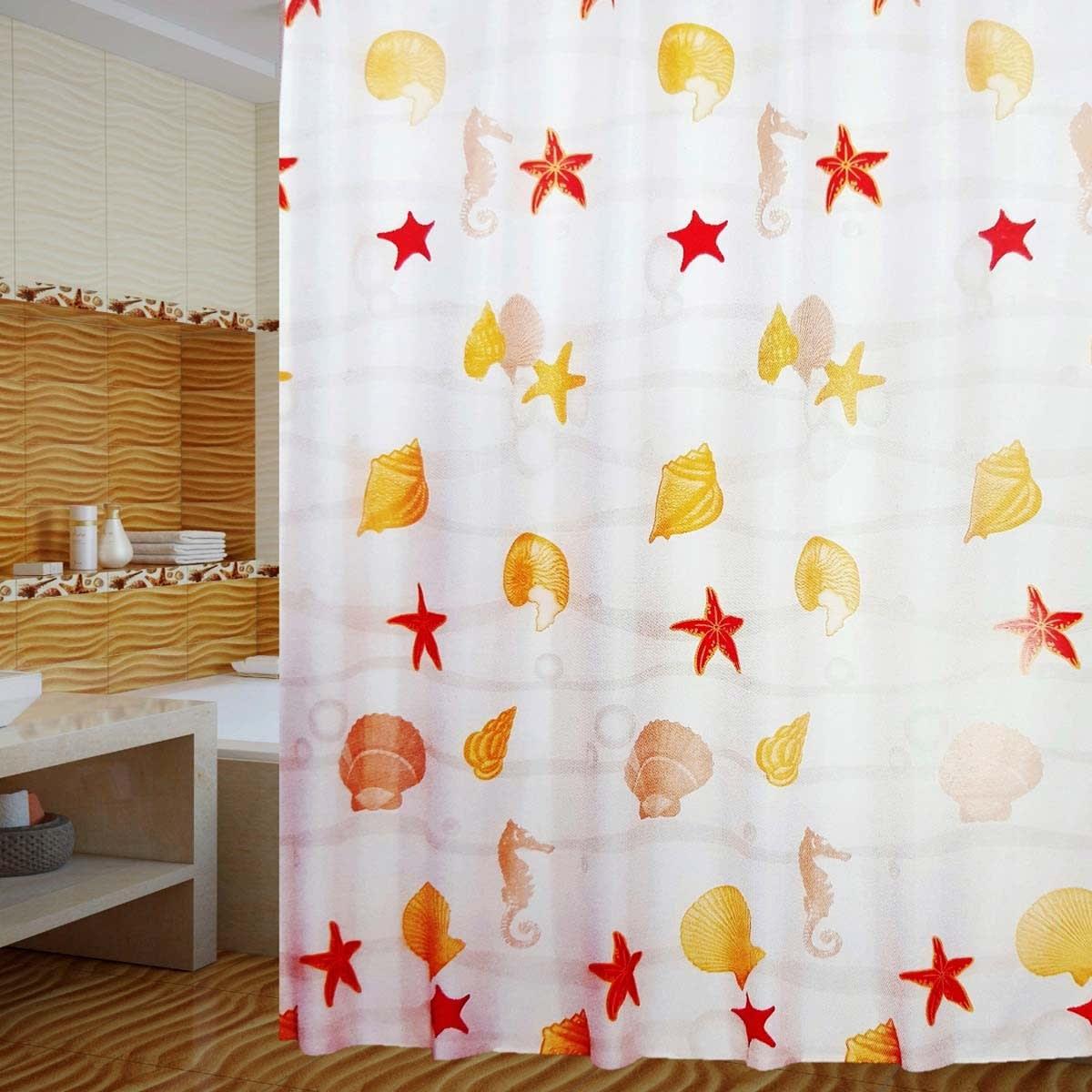 Шторка для ванной комнаты PRIMANOVA MALDİV D-14973