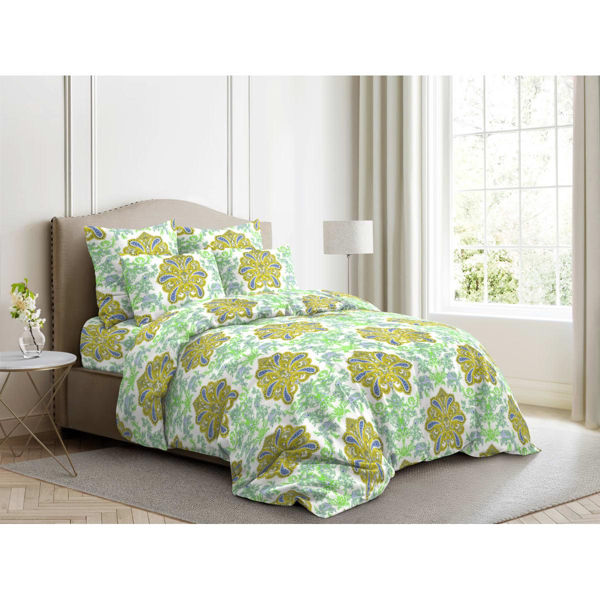 Комплект постельного белья двуспальный Ночь Нежна Царственный Образ, поплин