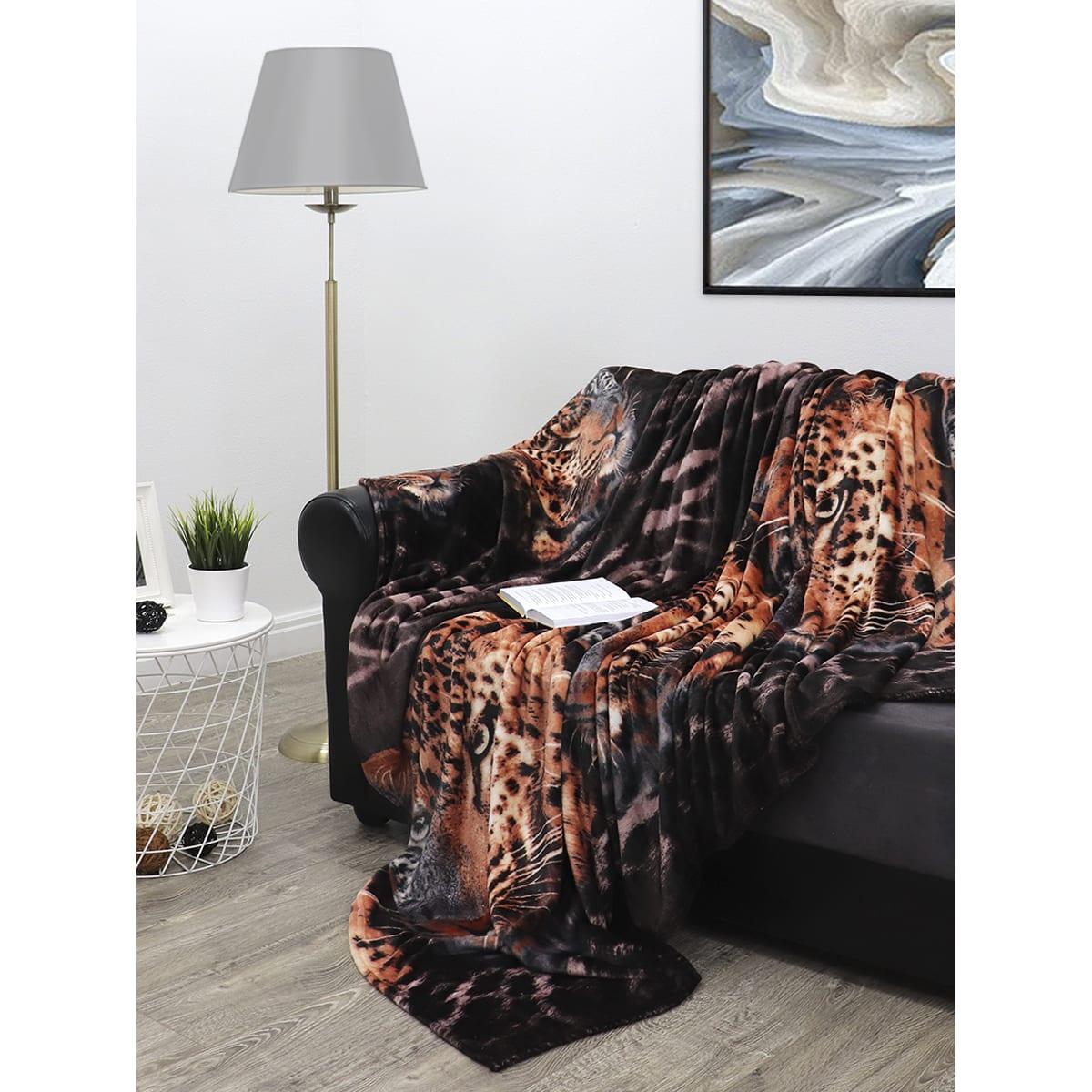 Плед TexRepublic Absolute flannel 17277 180х210 см, фланель
