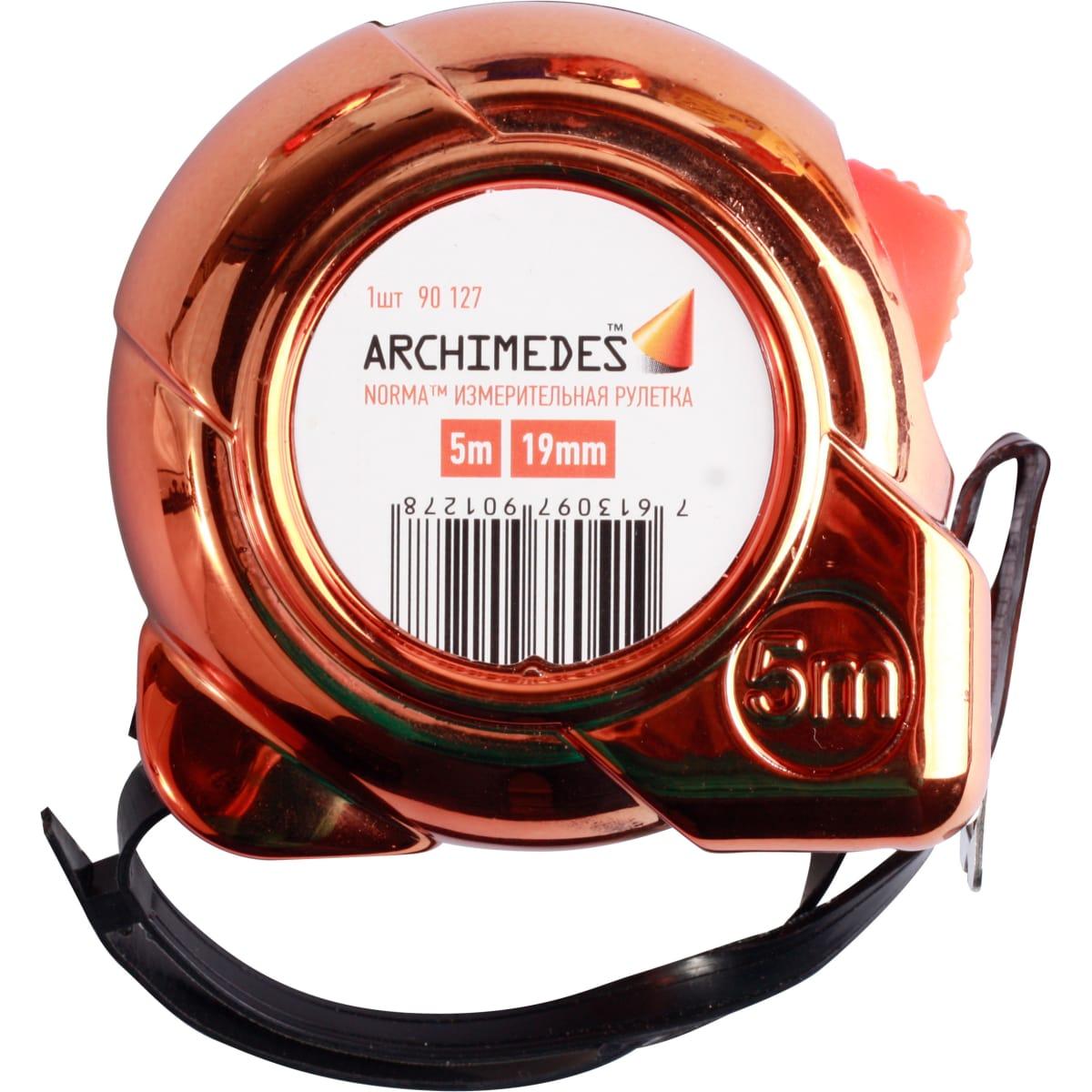 Рулетка ARCHIMEDES 5м 90127