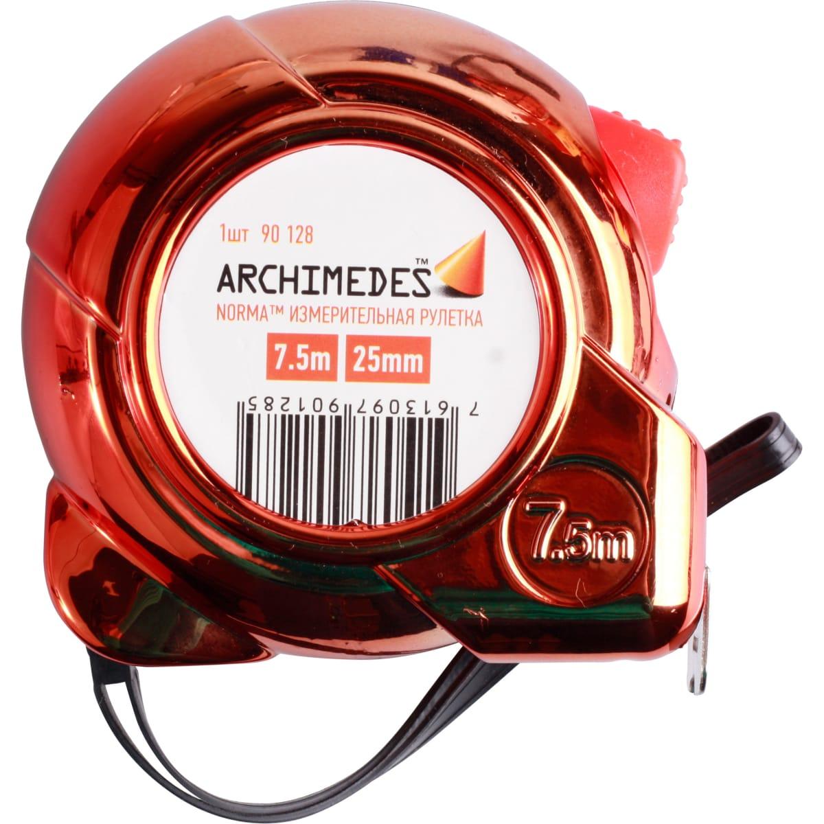 Рулетка ARCHIMEDES 7.5м 90128