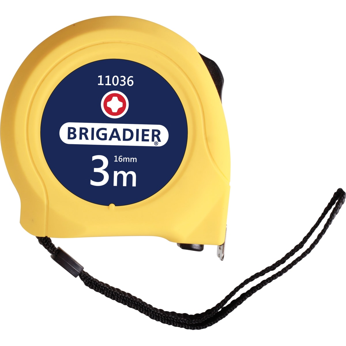 Рулетка BRIGADIER 3м 11036 Mastertape