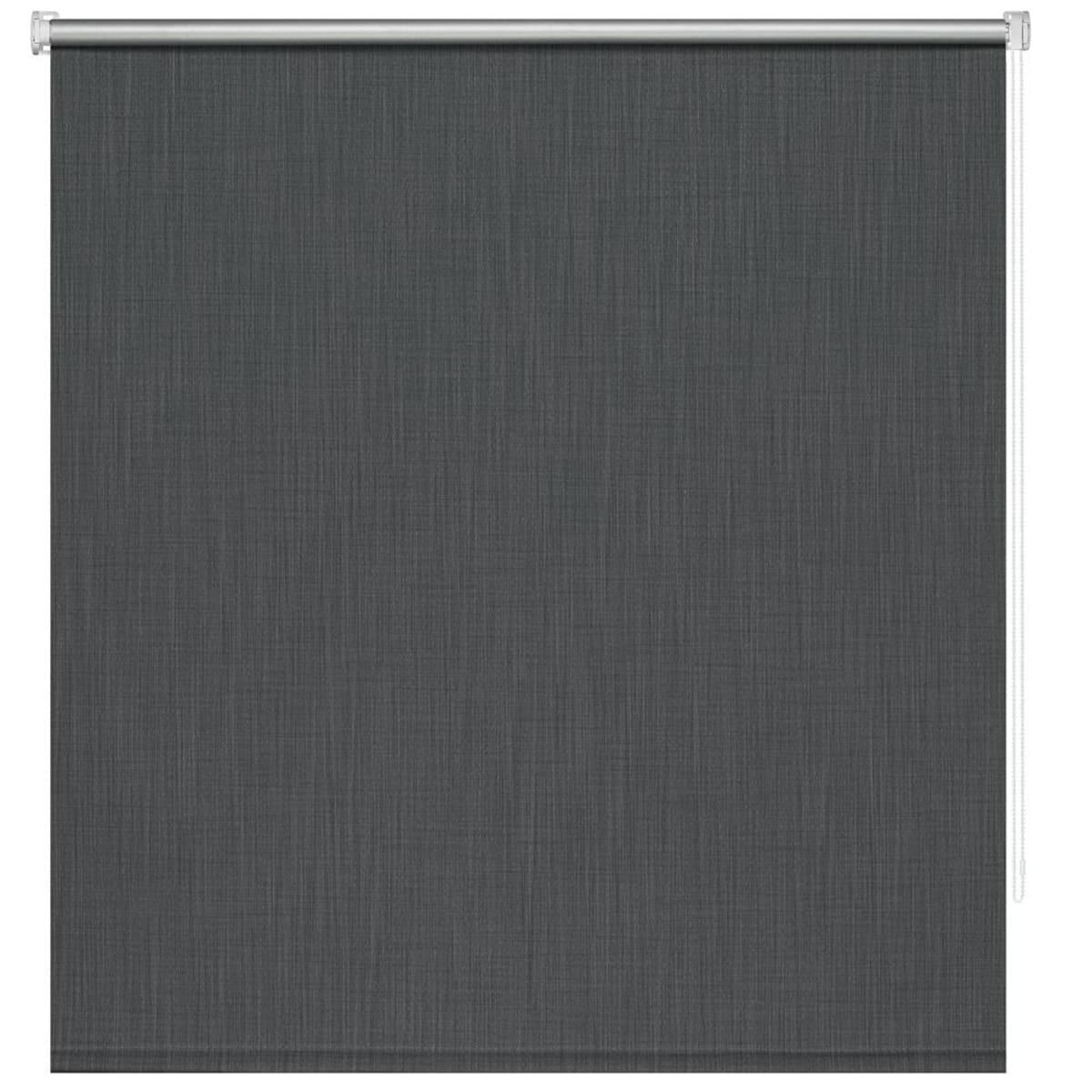 Рулонная штора Decofest Блэкаут Селия 40х160 см, цвет серый