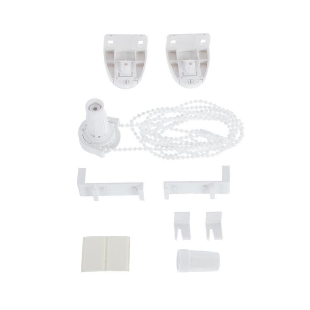 Рулонная штора Decofest Блэкаут Плайн 100х160 см, цвет серый