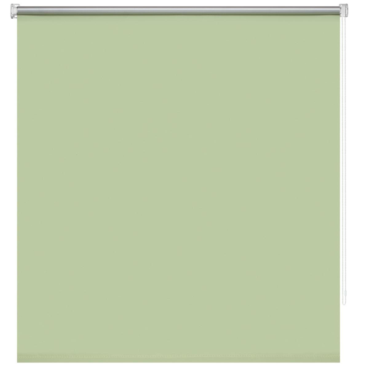 Рулонная штора Decofest Плайн 60х160 см, цвет зеленый