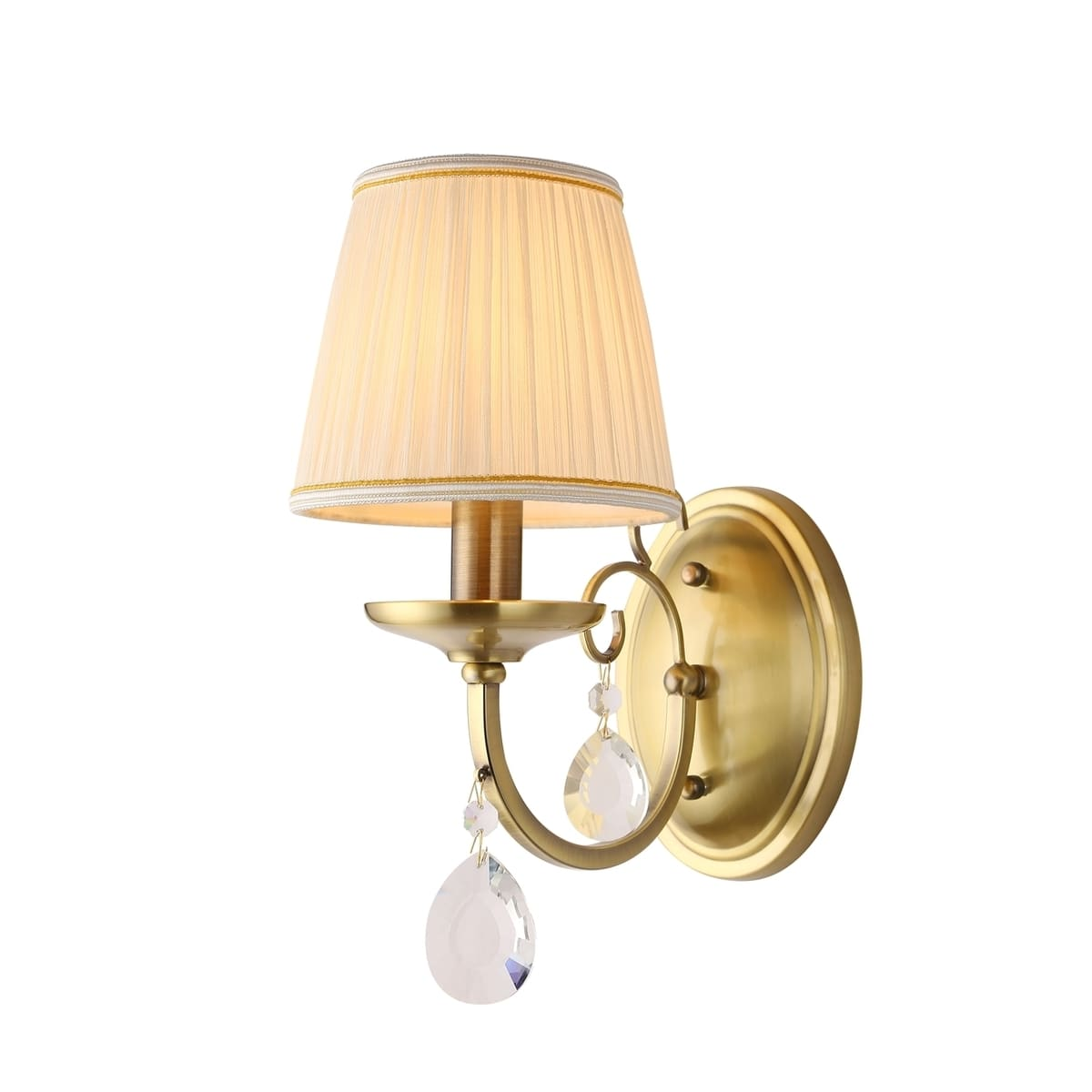 Настенный светильник Rivoli Б0038469 1 лампа цвет бежевый