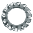 Шайба зубчатая DIN 6798 8 мм, 10 шт.