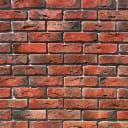 Плитка декоративная Лондон Брик, цвет красный, 1.16 м2