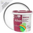 Эмаль Атлас 115 акриловая полуглянцевая цвет белый 2.7 л
