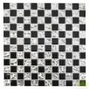 Мозаика 30х30 см стекло, цвет черный