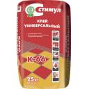 Клей для керамической плитки Стимул К-66, 25 кг
