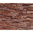 Облицовочный камень Виньон, цвет тёмно-коричневый, 0.4 м2