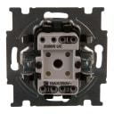 Выключатель встраиваемый ABB Basic 55 2 клавиши, цвет бежевый