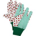 Перчатки садовые с рисунком hx-33-XL, х/б-ПВХ