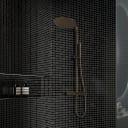 Мозаика Artens 30х30 см стекло цвет чёрный