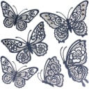 Наклейка 3D «Черные бабочки» СВА 1401