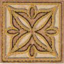 Вставка «Корсика» 7х7 см цвет коричневый/бежевый