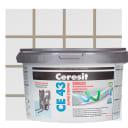 Затирка цементная Ceresit CE 43/2 водоотталкивающая цвет багамы