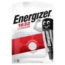 Батарейка литиевая Energizer CR1632, 1 шт.