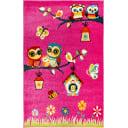 Ковёр Art Kids LM05, 1x1.5 м, цвет розовый