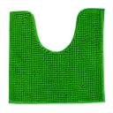Коврик для туалета Merci, 45х45, полиэстер, цвет зелёный
