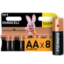 Батарейка алкалиновая Duracell AA/LR6 8 шт