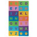Пол мягкий «Английский алфавит» полипропилен 25x25 см, в упаковке 32 шт.