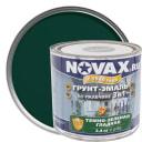 Эмаль-грунт по ржавчине Novax 3в1 цвет тёмно-зелёный 2.4 кг