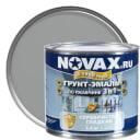 Эмаль Novax 3в1 цвет серебристый 2.4 кг