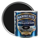 Краска гладкая Hammerite цвет чёрный 2.2 л