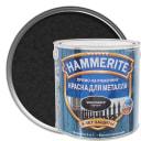 Краска молотковая Hammerite цвет чёрный 2.2 л