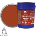Эмаль ПФ-115 Простокраска цвет коричневый 5 кг