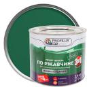 Эмаль по ржавчине 3в1 цвет зелёный 2.4 кг