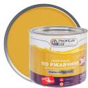 Эмаль по ржавчине 3в1 цвет жёлтый 2.4 кг